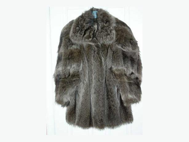 Ladies Raccoon Fur Coat
