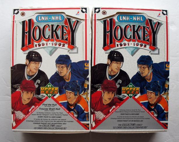 Hockey 1991-1992 Upper Deck - 75 anniversary NHL