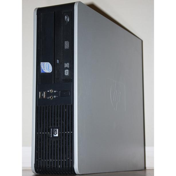 HP dc7800 SFF Desktop PC Computer Core2 Duo E8400 3.00GHz DVDRW 4GB RAM 160GB