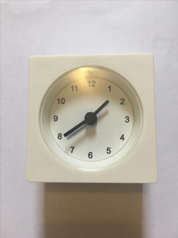 Original Hand Made Modern White Clock