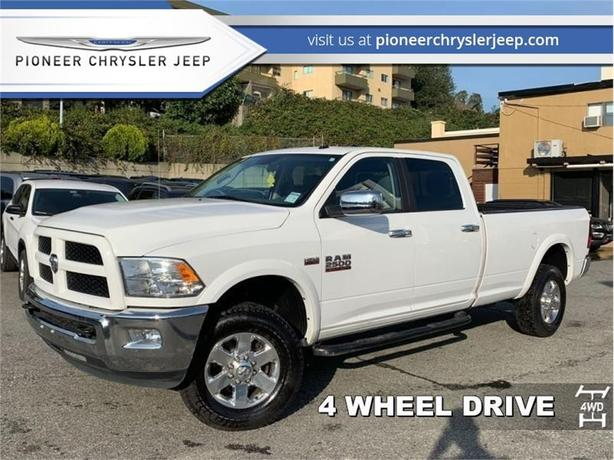 2015 Ram 2500 OUTDOORSMAN  - SiriusXM -18-inch Chrome Wheels