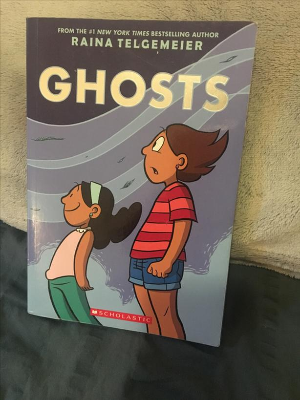 Ghosts by best selling author Raina Telgemeier