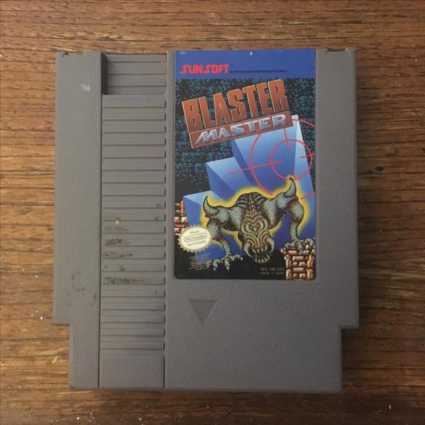 Blaster Master NES Nintendo