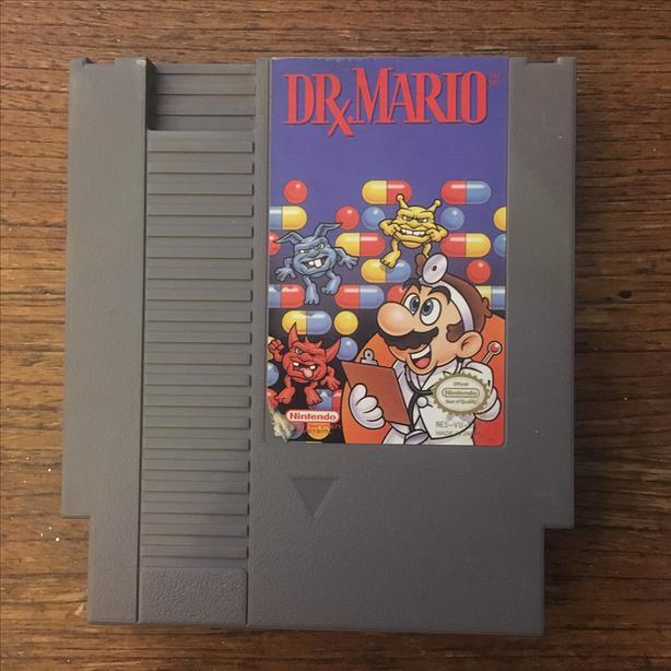 Dr Mario Nintendo NES