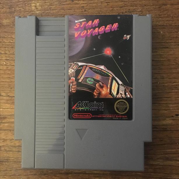 Star Voyager NES Nintendo