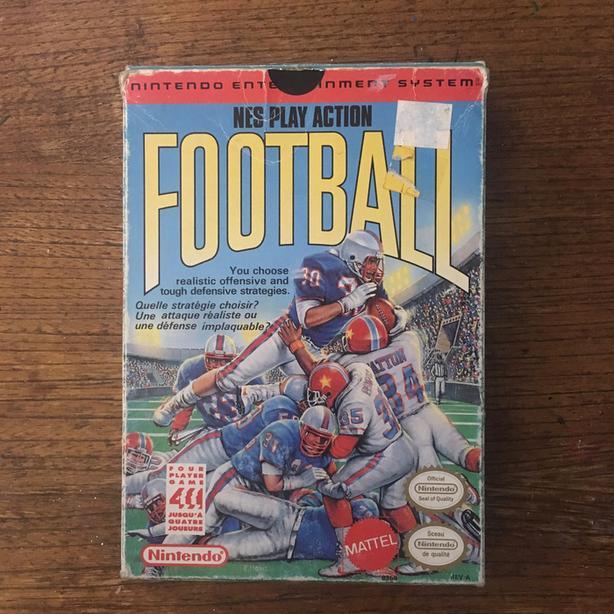 NES Play Action Football Nintendo