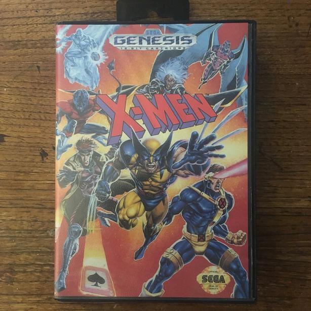 X-Men Sega Genesis