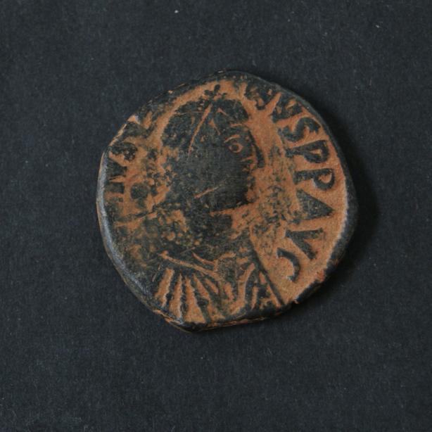 527 AD - 565 AD BYZANTINE COIN