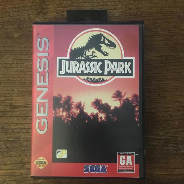 Jurassic Park Sega Genesis