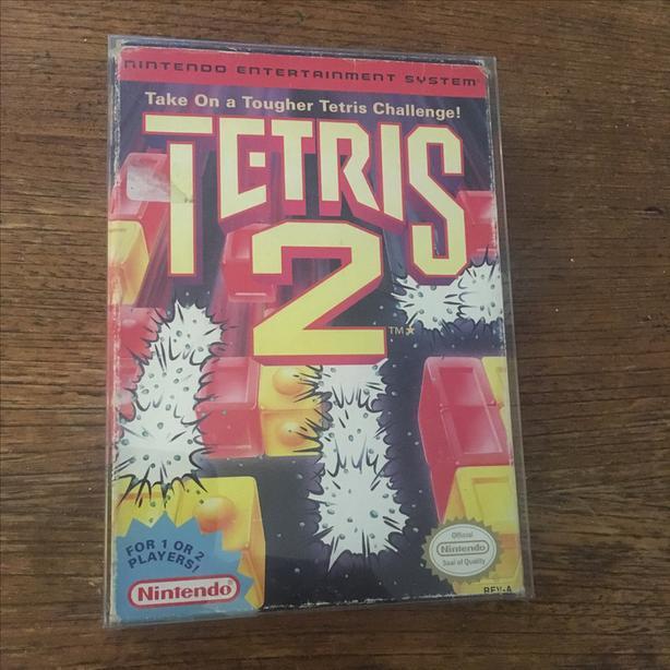 Tetris 2 NES Nintendo