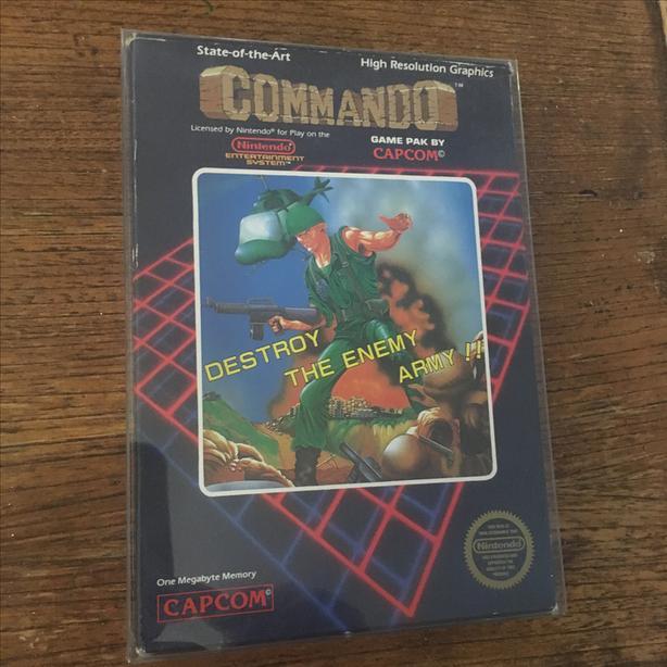 Commando NES Nintendo