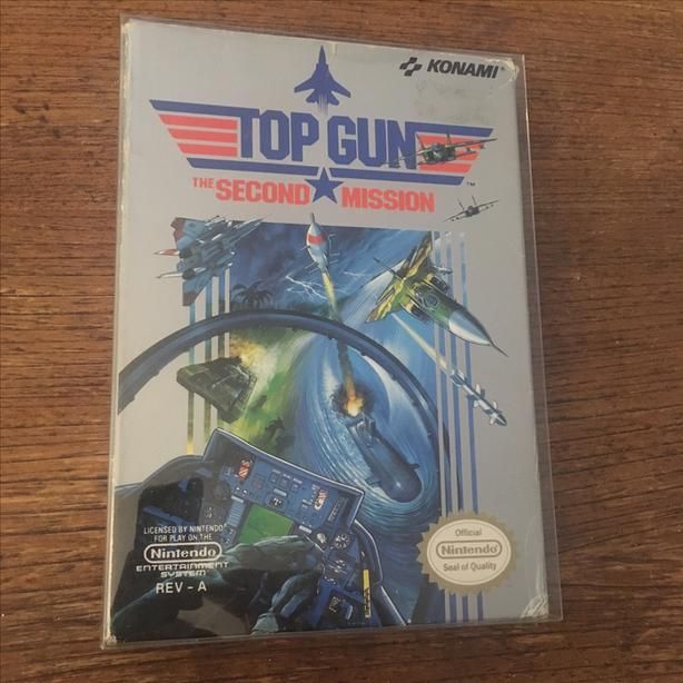 Top Gun The Second Mission NES Nintendo