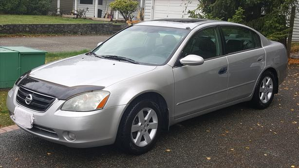 2003 Nissan Altima 2.5L