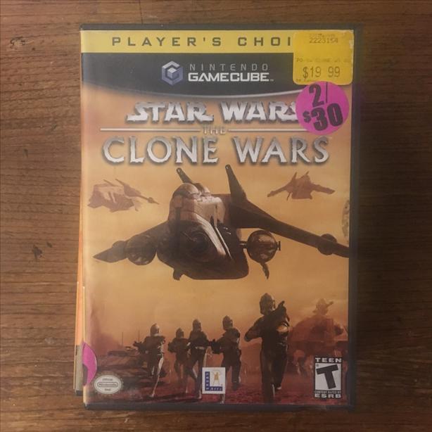 Star Wars The Clone Wars Nintendo Gamecube