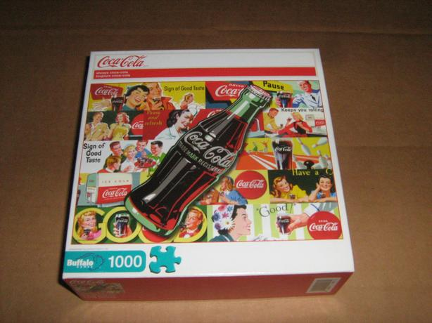 COCA-COLA  1000  PIECES  JIGSAW  PUZZLE  (NEW)