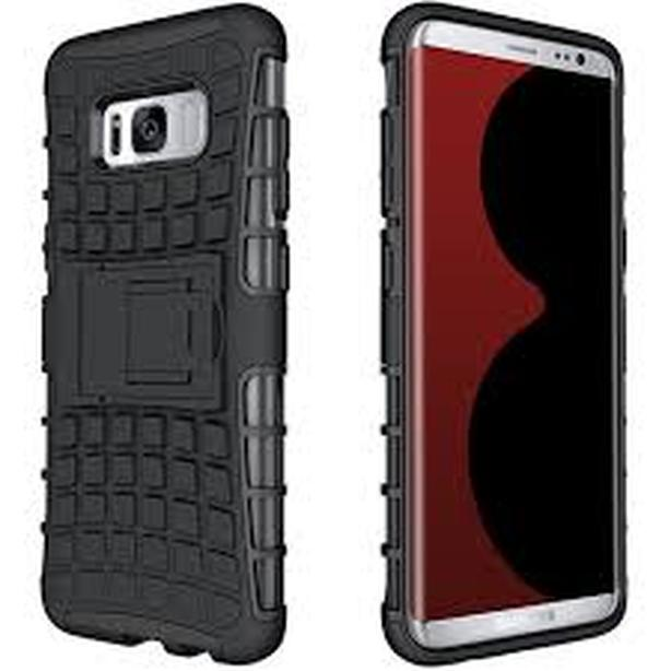 Heavy duty Rugged Armor Hybrid Case for Samsung S8 Plus