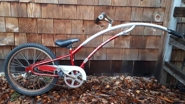 Adam's trail-a-bike