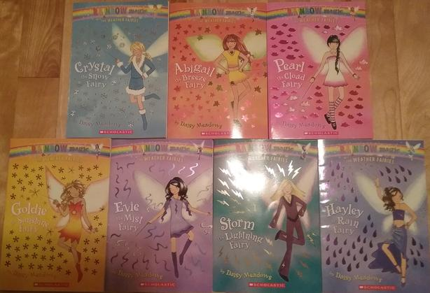 Rainbow Magic Books the Weather Fairies Complete Series