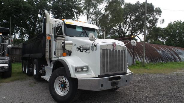 2014 KENWORTH T-800 (SIX MONTH WARRANTY)