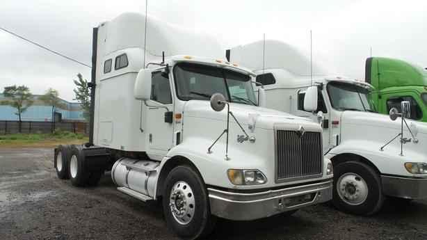2007 INTERNATIONAL 9200i SBA 6X4 SLEEPER NO DPF