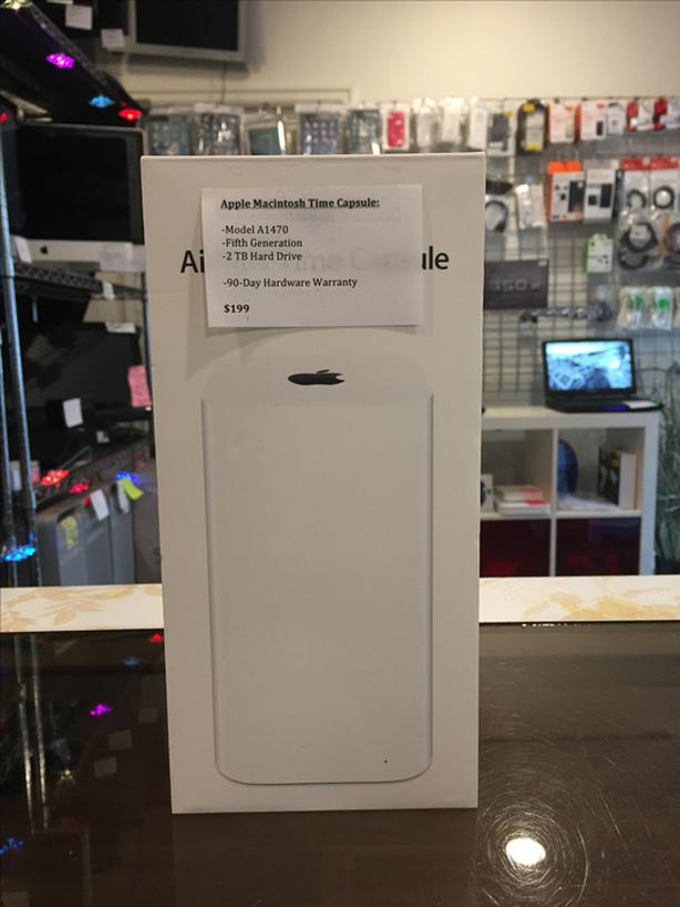 Apple Macintosh AirPort Time Capsule 5th Generation 2 TB w/ Warranty!