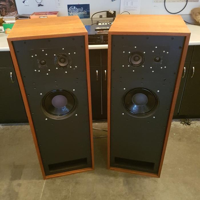 $750 · Rare British Transmission Line Speakers -