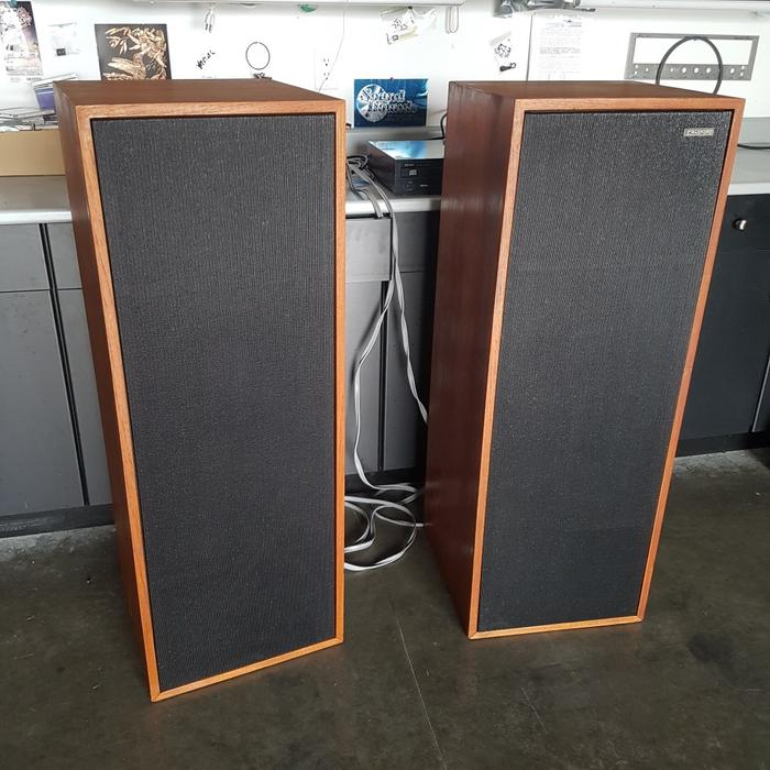 $750 · Rare British Transmission Line Speakers -