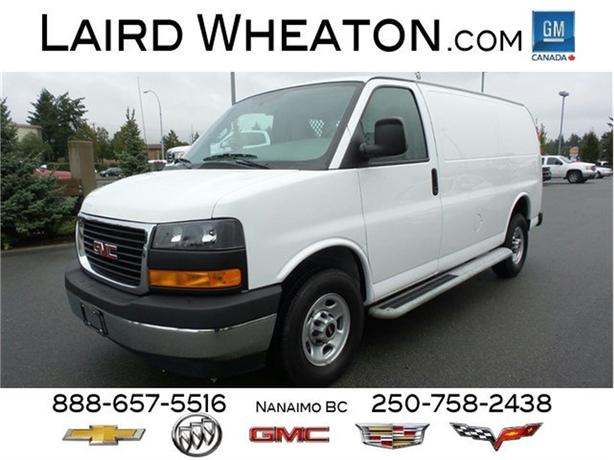 2017 GMC Savana Cargo Van Running Boards, Clean Interior