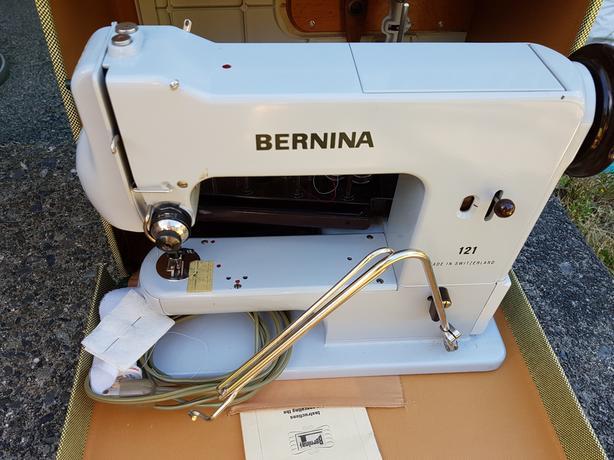 Vintage Bernina Portable Sewing Machine Victoria City Victoria Delectable Sewing Machine Rental Calgary