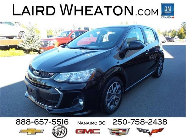 2018 Chevrolet Sonic LT $69.00/ weekly