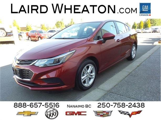 2018 Chevrolet Cruze LT from $79 / Weekly
