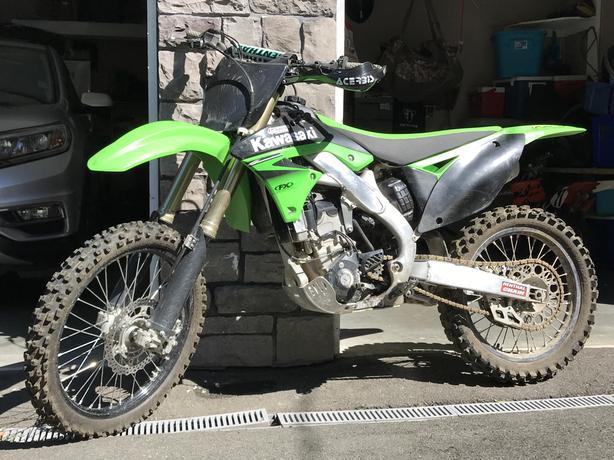 2011 Kawasaki KXF 250cc