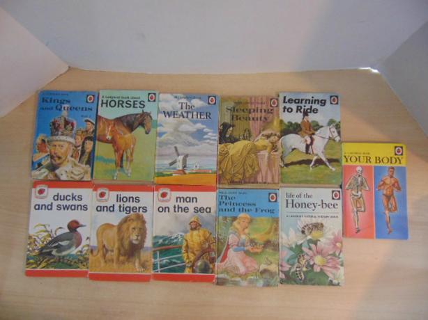 Vintage Children's Books 1960-1970's Lady Bird Easy Reading 11 Hardcovered