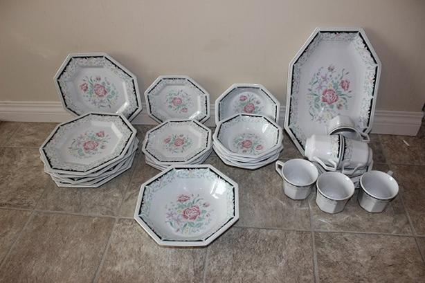 Moving Sale - Chinaware with Kettle, creamer and sugar bowl