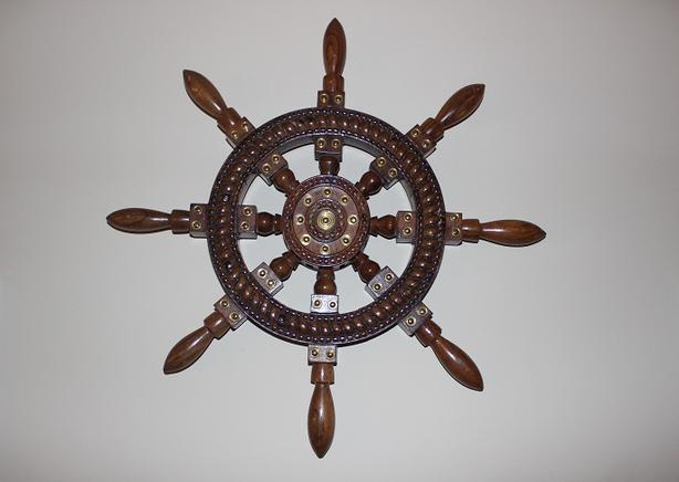 Wall Hanging Wheel