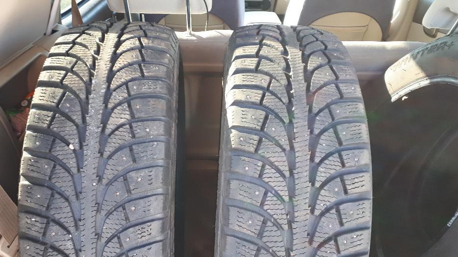 Winter Tires Vancouver >> 4 STUDDED WINTER TIRES, 2 CHAMPIRO 215/60/17 & 2 ESKAY 215/65/17 Kensington, PEI
