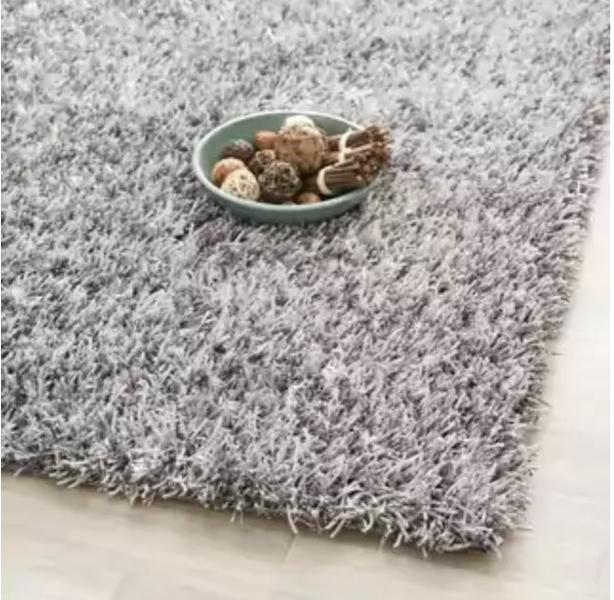 Large Shaggy Grey Rug (Originally from Ikea for 200$)