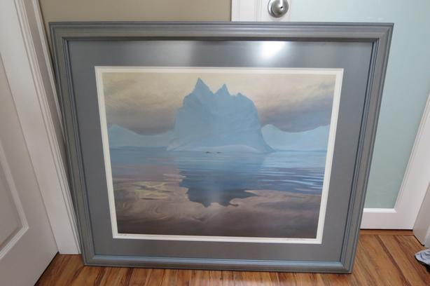 Bateman's Antarctic Evening - Signed and Framed Print