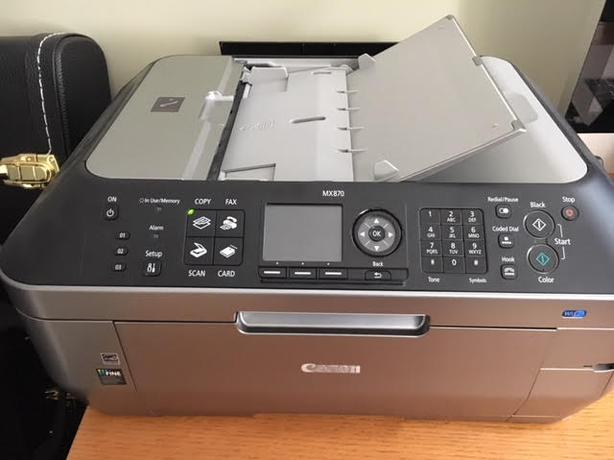 Canon MX870 Series Printer/Scanner/Copier/Fax Machine