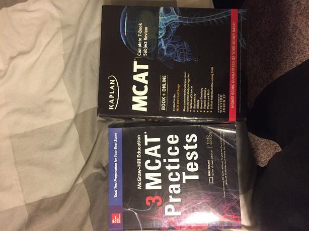 MCAT Books + Practice Tests