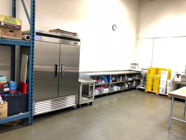 Commercial kitchen for rent - Restaurant kitchen - Shared kitchen space