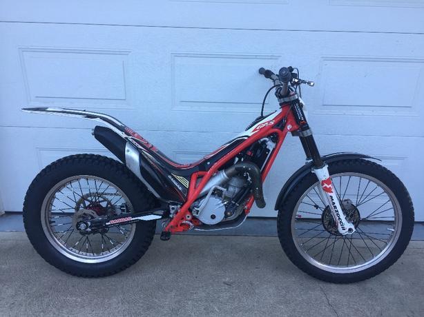 2012 GAS GAS TXT 300 trials motorcycle
