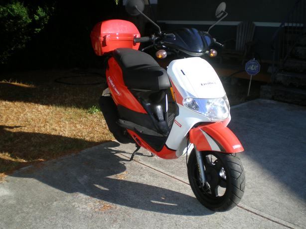 2008 Derby Bullet Scooter ONLY 9km EXCELLENT CONDITION 49CC