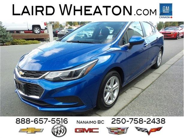 2018 Chevrolet Cruze LT WiFi Hotspot, MyLink Colour Touch