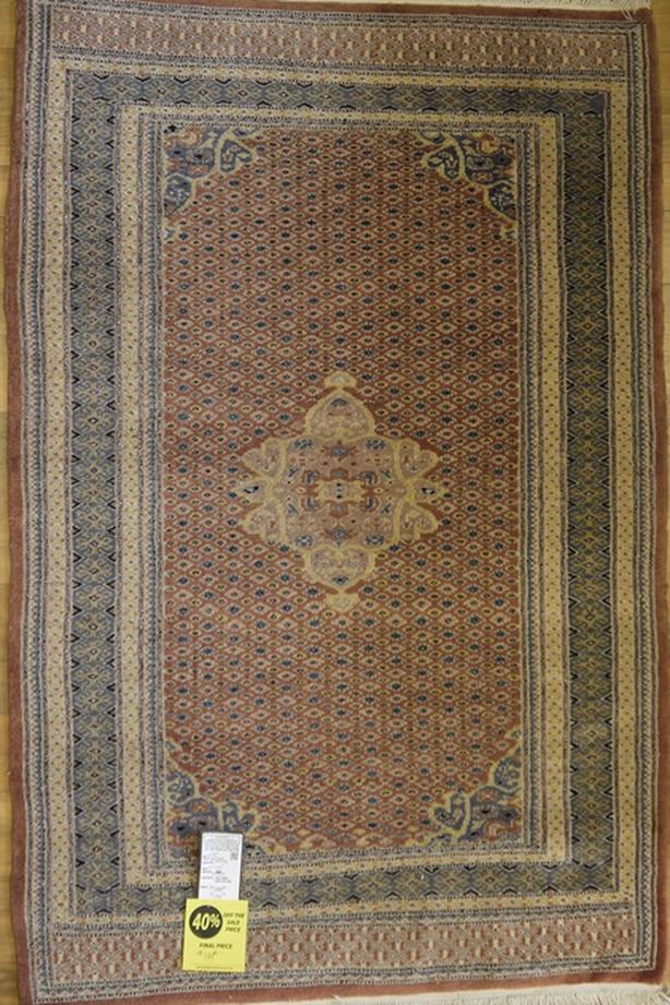 "Pakistani Jalder Carpet 5'1"" x 3'3"""