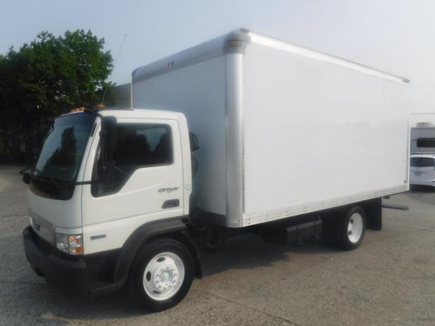 2009 International CF500 Cube Van 16 Foot Diesel
