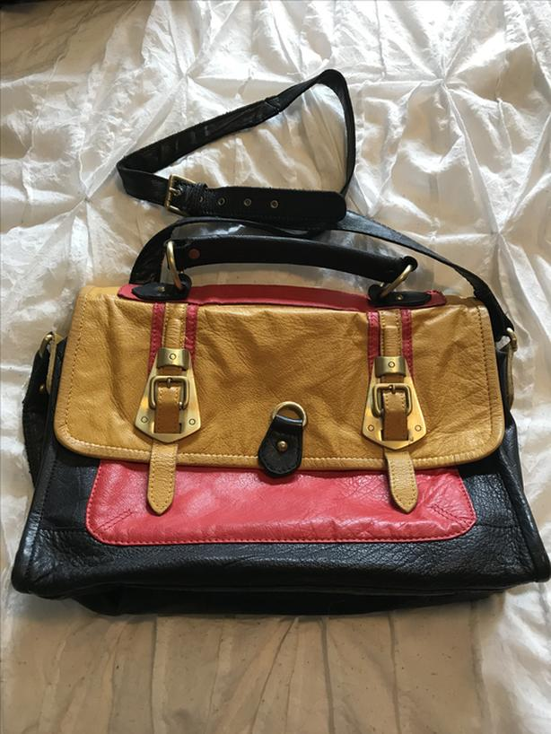 ASOS leather crossbody bag