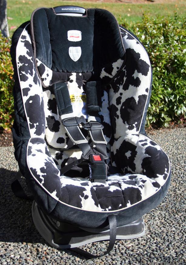 FREE Britax Marathon 65 G3 Car Seat In Cowmouflage