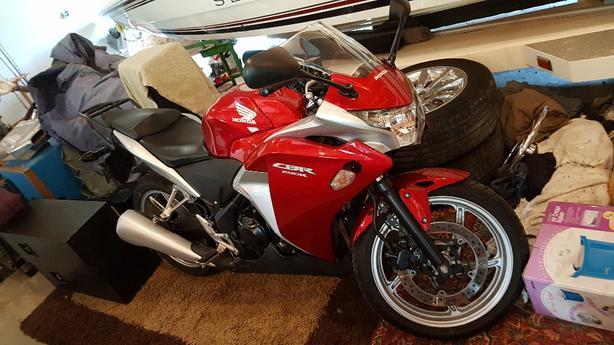 2012 Honda CBR 250 (Red)