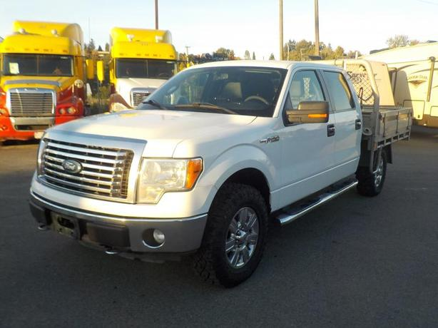 2012 Ford F-150 XL SuperCrew Flatdeck 4WD